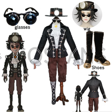 Cosplay Costume Wigs Game Norton Campbell Identity-V Suits Prospector And Shoes Mr.mole-Skin