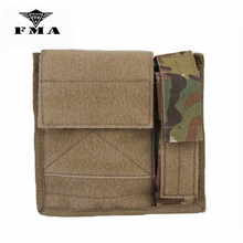 Pouch Admin Multicam Black Tactical-Map FMA Airsoft Light Molle-Bags Hunting for Skirmish