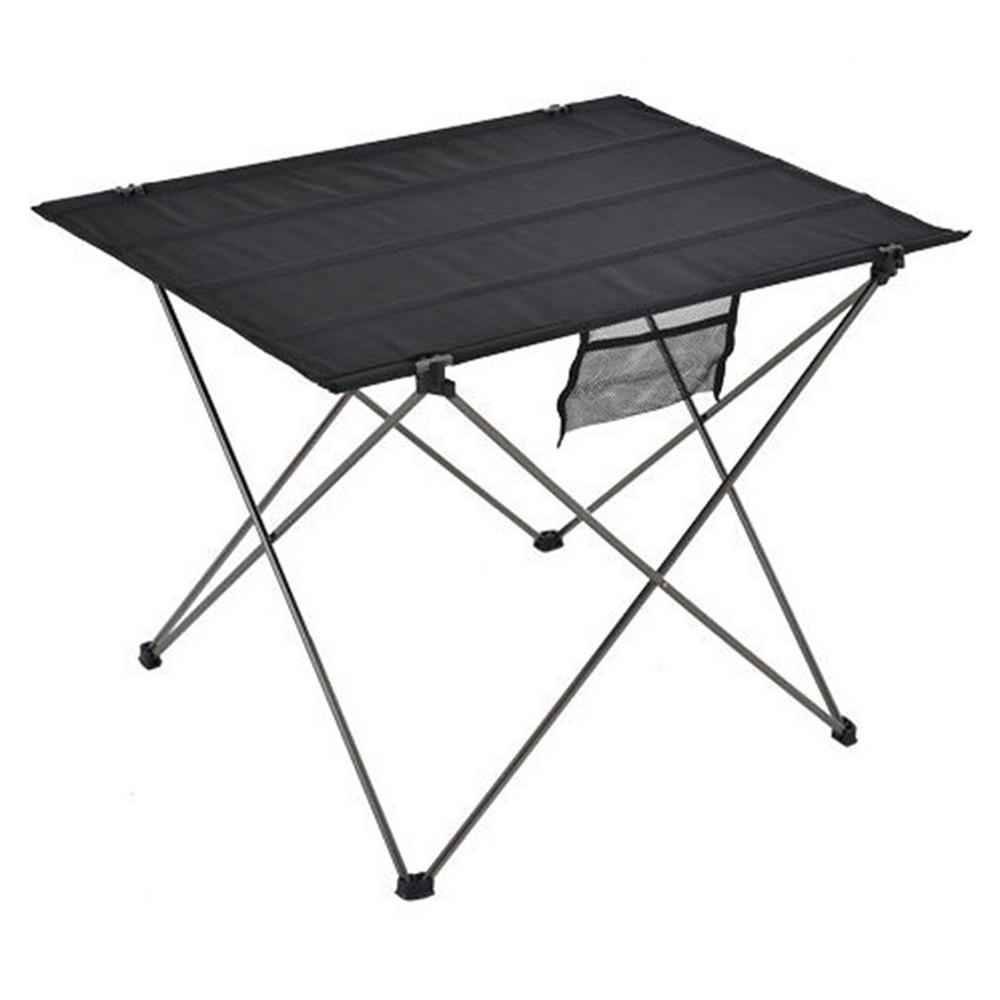 Tablecloth Folding-Table Picnic Outdoor Aluminum Camping Desktop title=