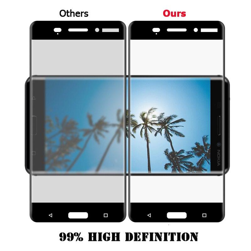 Dreamysow-Ultra-Fino-Para-Nokia-6-5-3-7-8-2-Vidro-Temperado-capa-completa-para