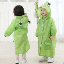 Raincoat Kids Waterproof Children Cartoon for Animal-Style