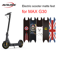 Stickers Scooter-Mats Ninebot Max-G30 Matte Modification Waterproof Electric for Safety-Pedal