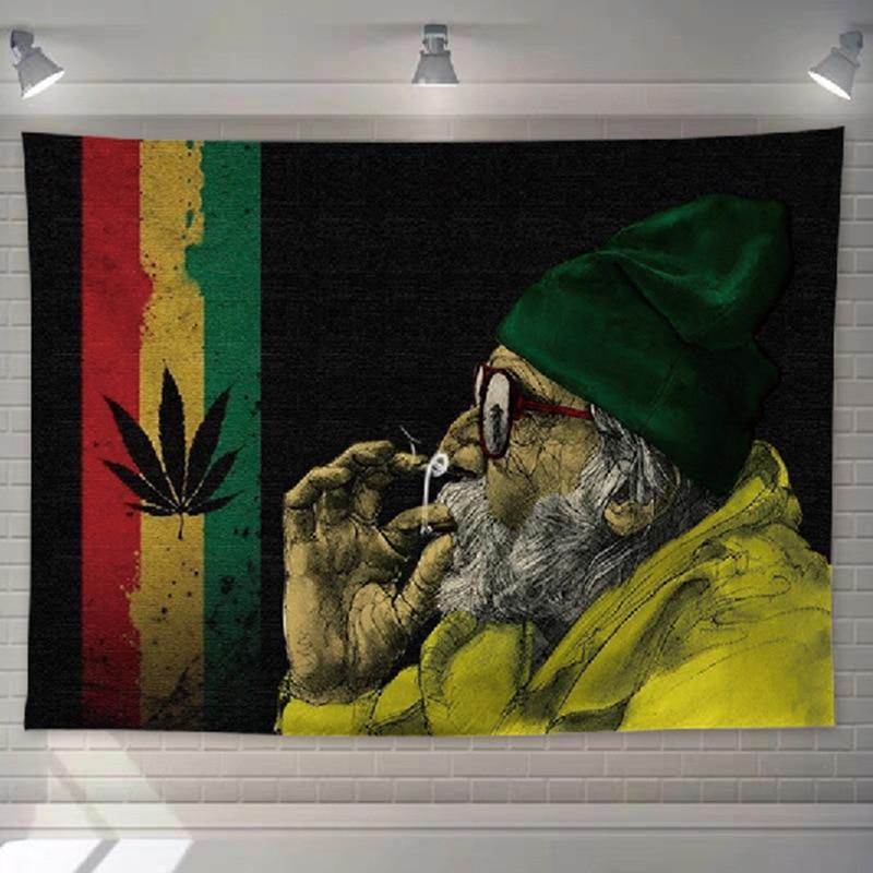 Tenture paréo Rastafari | Rasta-Lion