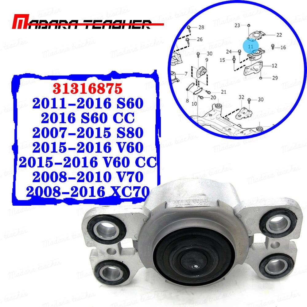 Audi 2009-2012 Engine Mount Left And Right Motor Support Bracket Kit Lemfoerder