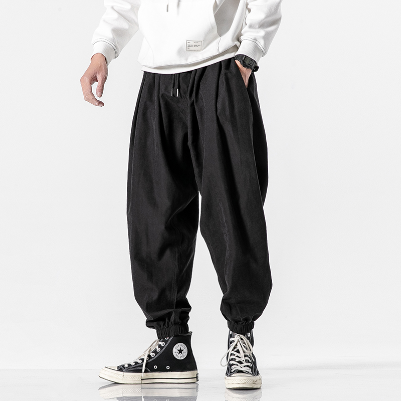Men 2020 Summer Korean Style Casual Pants Mens Fashion Plus Size 5XL Trousers Male Oversize Harem Pants Men Clothes