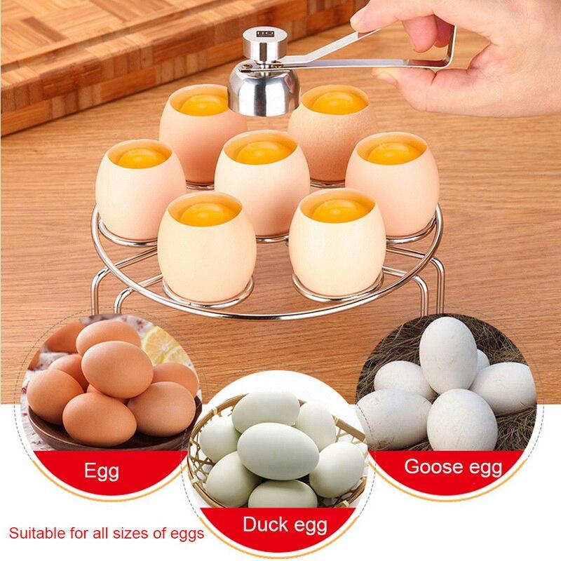 Human - Stainless Steel Egg Shell Knocker