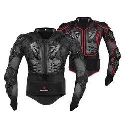 HEROBIKER, мотоциклетная броня, защитное снаряжение для мотокросса, броня для тела, грудь для мотогонок, гоночная куртка, мотоциклетная защита, ...
