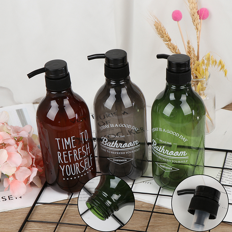 1PCS Soap Dispenser Bottle Kitchen Hand Sanitizer Bottle Cosmetics Shampoo Body Wash Lotion Bottle Outdoor Travel Bottle 600ml
