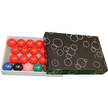 suzakoo Mini 38mm Diameter Snooker Balls Children Playing 22 Balls one Set Billiard Balls