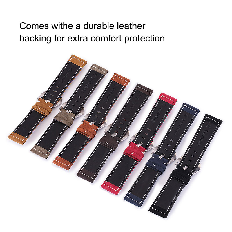 UTHAI P12 18/20/22/24mm Watch Strap Genuine leather Watch Band 18-24mm Watch Accessories High Quality 22mm Leather Watch Strap