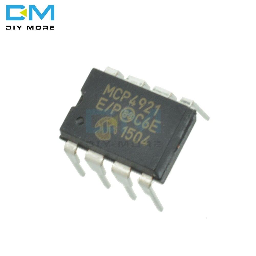 10PC SDigital Analog Converter IC MICROCHIP DIP-8 MCP4921-E//P MCP4921