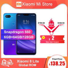 Xiaomi 8-Lite LTE/CDMA/WCDMA/GSM Quick Charge 3.0 Octa Core Fingerprint Recognition 12mp