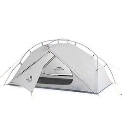 Naturehike VIK серия 970 г Сверхлегкий Одноместный тент 15D нейлон водонепроницаемый Палатка однослойный открытый туристический тент NH18W001-K