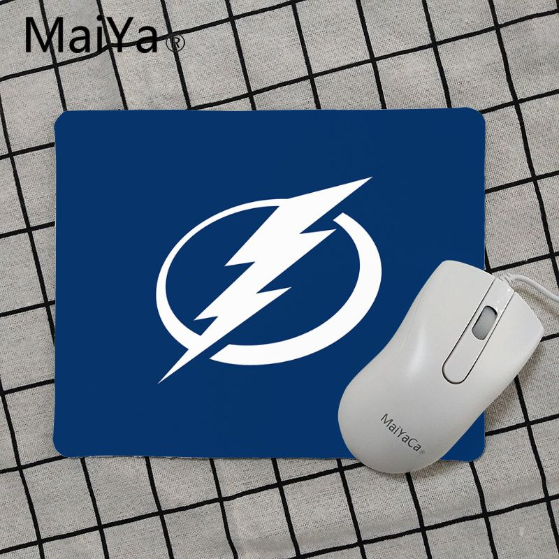 Tampa Bay Lightning Round Fabric Mouse Pad Mat Mice Mousepad