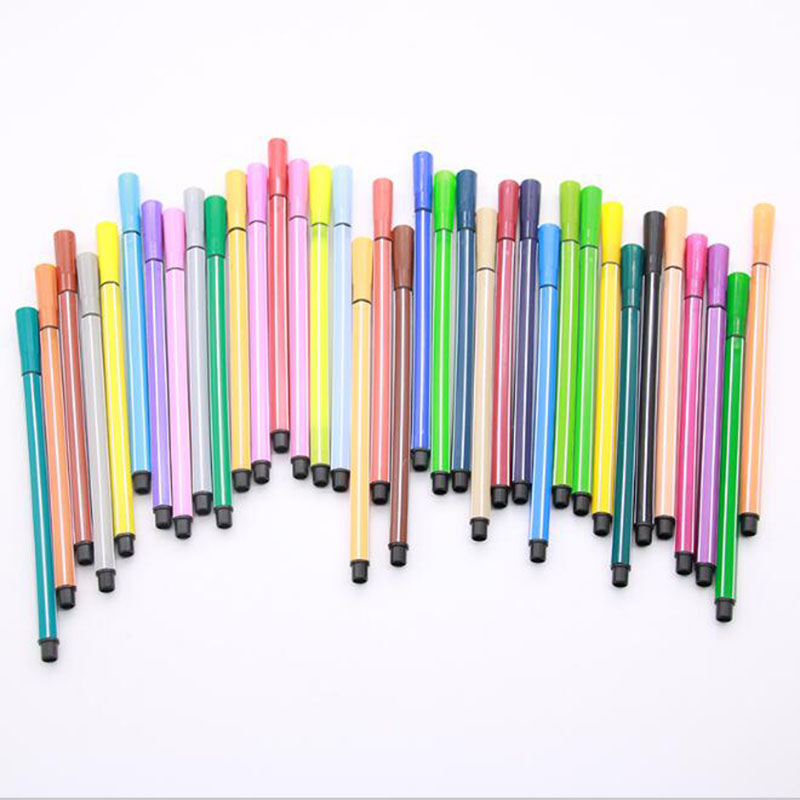 Special! Children Painting 36/24/18/12 Non-toxic Colorable Color Watermark Pen Mark Painting Children's Art Supplies