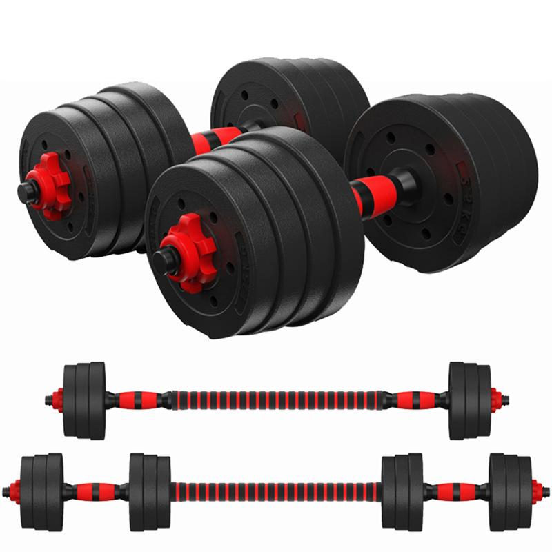 Dumbbell Sports Square Tie Clips