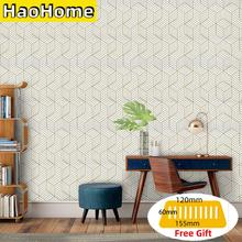 Stick Wallpaper Self-Adhesive film Removable Hexagon-Contact-Paper Bedroom Living-Room