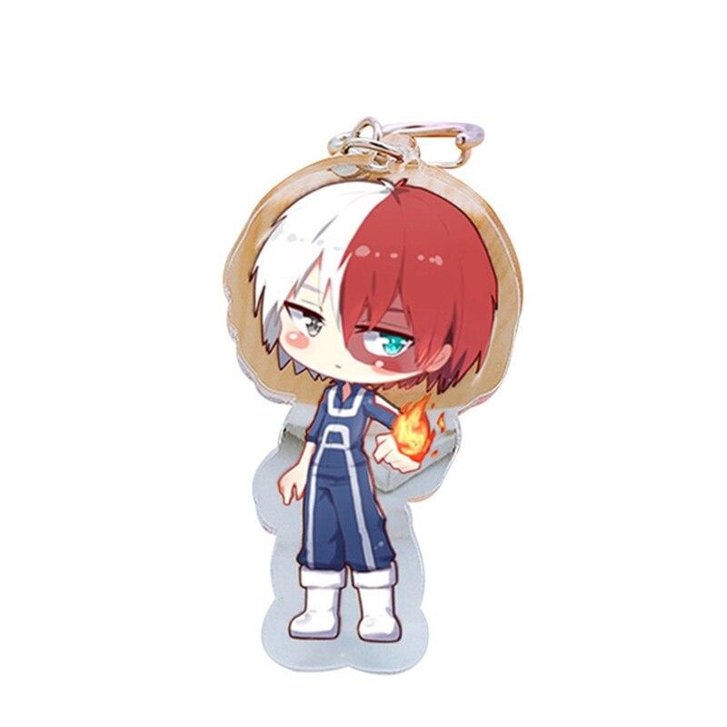 Boku No Hero Academia Pendant Keychain Keyring Charm Anime Key Chain