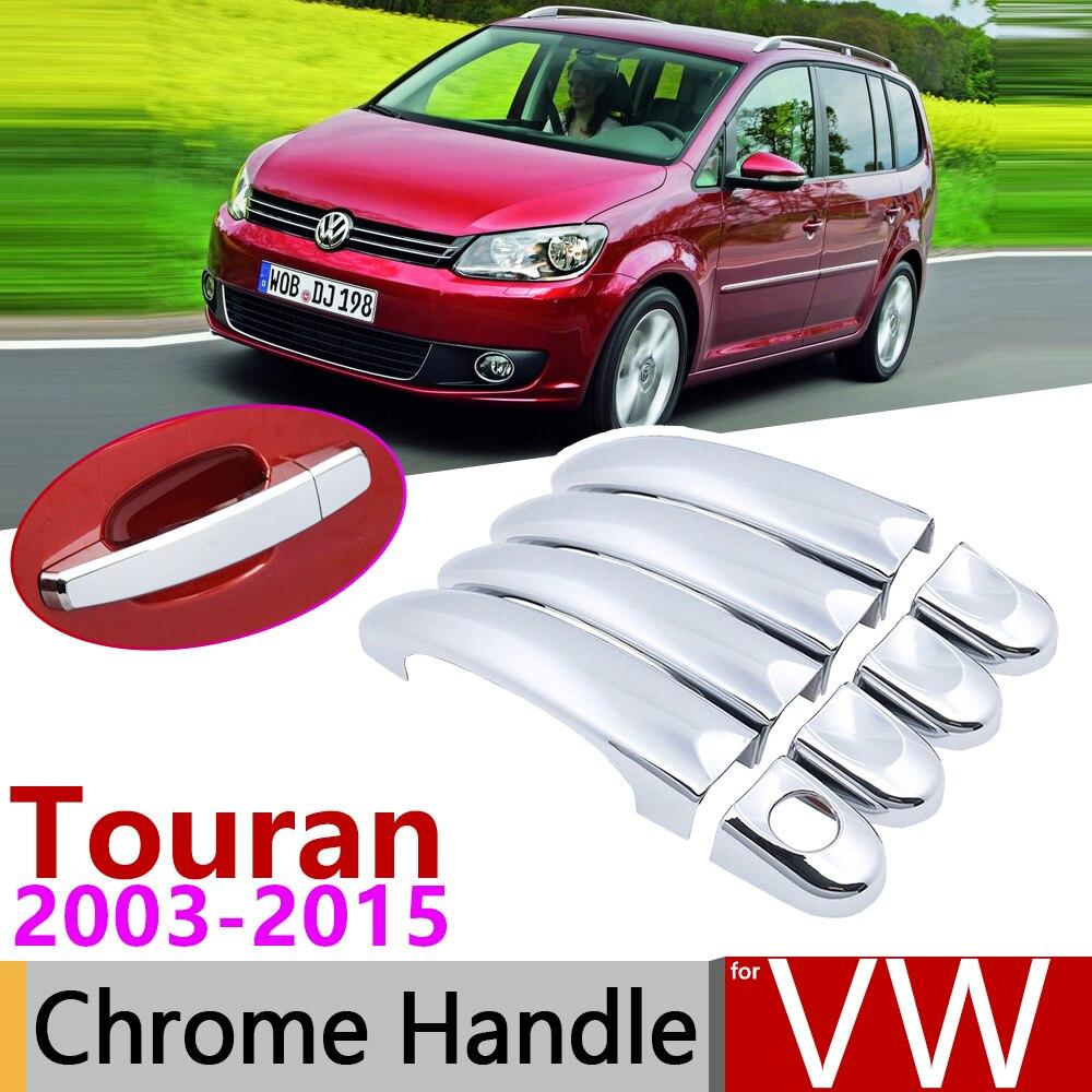 Protezione paraurti posteriore in acciaio INOX cromato TOURAN MK2