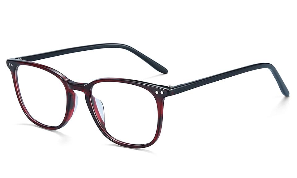 ZENOTTIC Transparent Glasses Frame Men Prescription Glasses Lenses Acetate Glasses Man Frames Optical Myopia Eyeglasses (7)