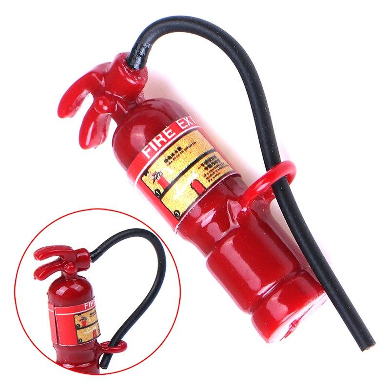 1:12 Scale Red Fire Extinguisher Dolls House Miniature Accessories HI FD