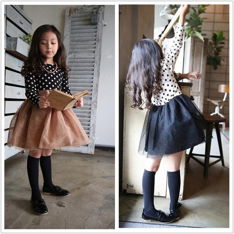Autumn Fashion Girl Long sleeve Dress Kids Fall Clothes Children Party Clothing