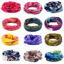 Headband Cycling-Bandana Women Outdoor-Accessories Printing Fishing Magic Collar Sunshade