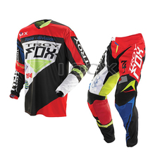 Motocross Jersey Pants Gear-Set Offroad-Suit Dirt-Bike Downhill Troy Fox MX 360 Men Race-Division