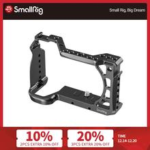 "SmallRig A6600 Vlog Shooting Cage for Sony A6600 Camera Cage With Cold Shoe Mount/ARRI 3/8""-16 Accessory Thread -2493"