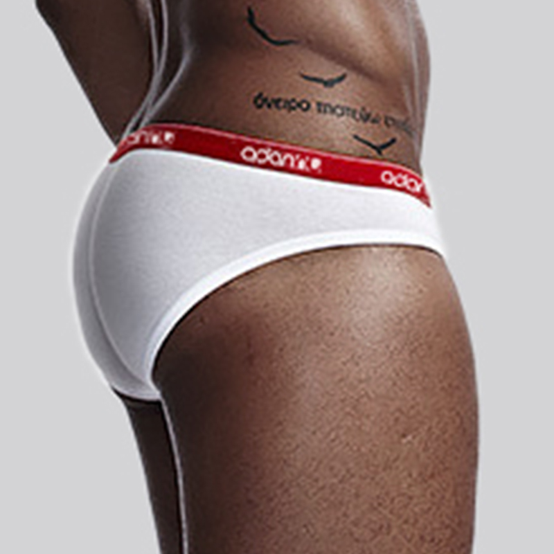 ADANNU Brand Men UNderwear Sexy Men Briefs Cotton Male Panties Cueca Tanga Comfortable Underpants Breathable U Pouch Silp Homme