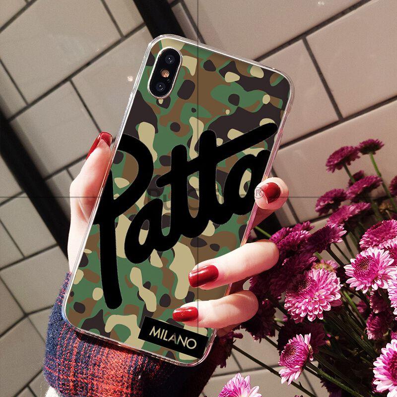 Hot Dutch street fashion brand patta Camouflage pattern