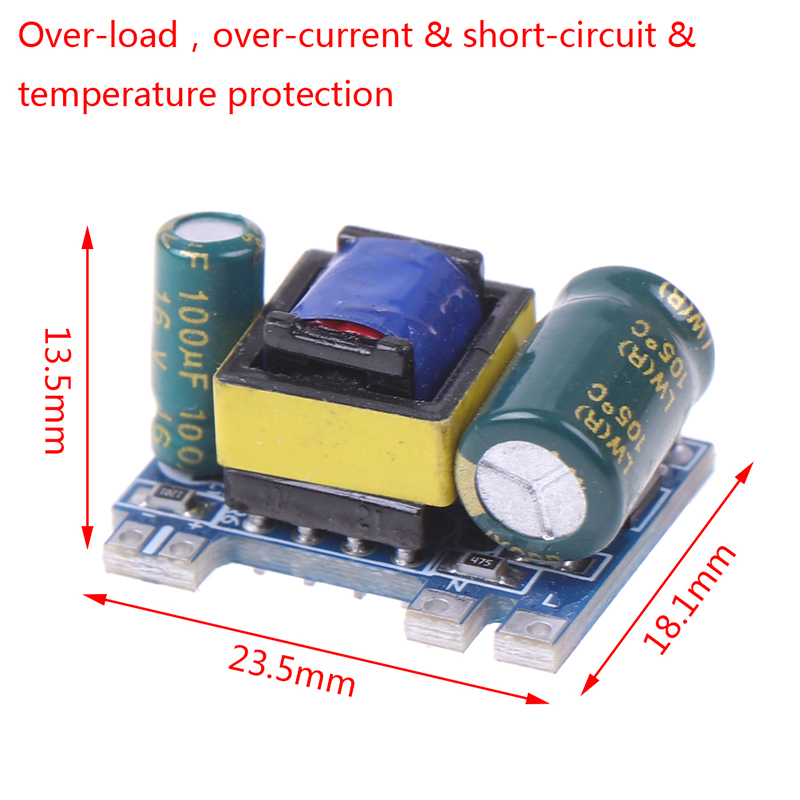 1PC NEW AC-DC 12V 300mA 3.5W Isolated Switch Power Supply Module Converter Module