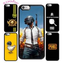 Pubg Game DIY Luxury Phone Case For iphone 11 Pro Max X XR XS SE 2020 6S 7 8 Plus Acrylic