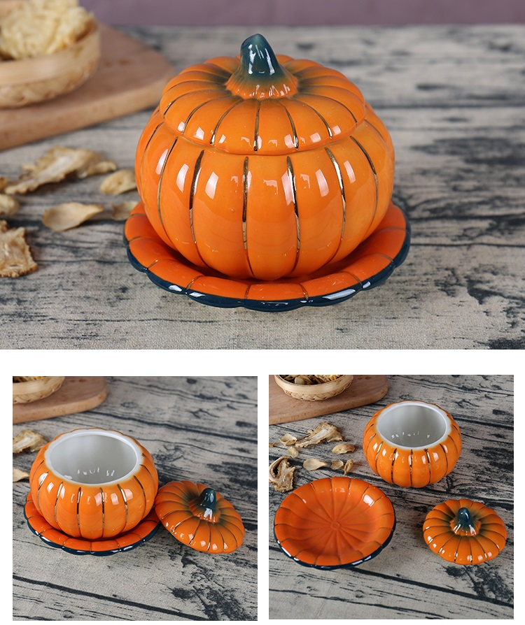 ceramic pumpkin bowl imprismo shop