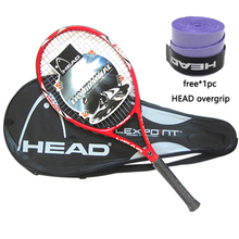 Tennis-Racket Overgrip-String HEAD Carbon-Fiber Padel Raquete-De-Tennis Racchettas Original