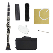 Clarinet Musical-Instruments IRIN Flat B Bakelite Bb 17 17-Keys Nickel-Plated High-Quality