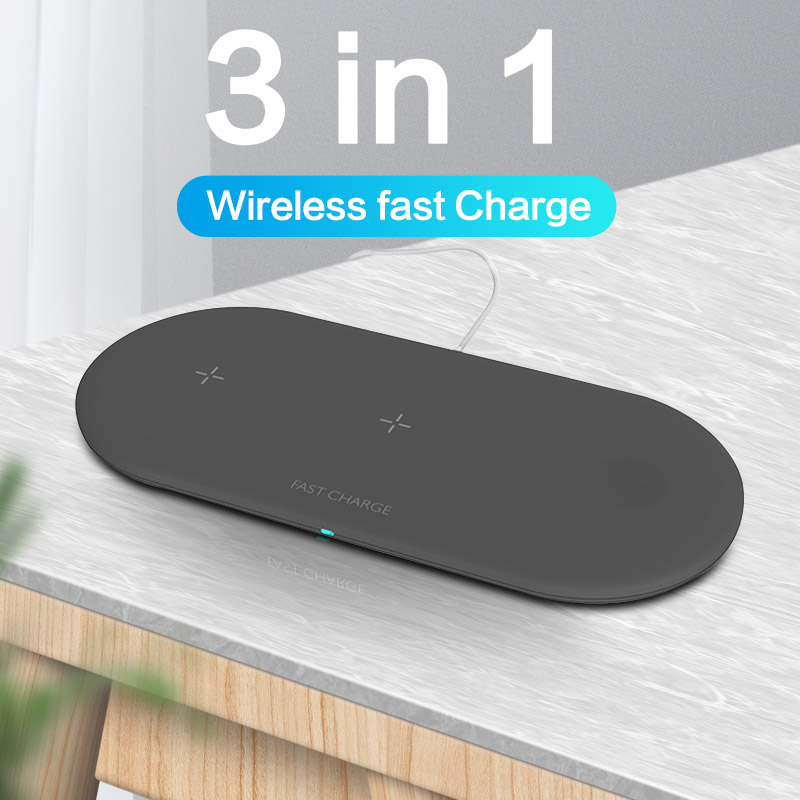 Wireless-Charger Charging-Pad Airpods Apple Watch Fast iPhone 11 Samsung S8 Portable title=