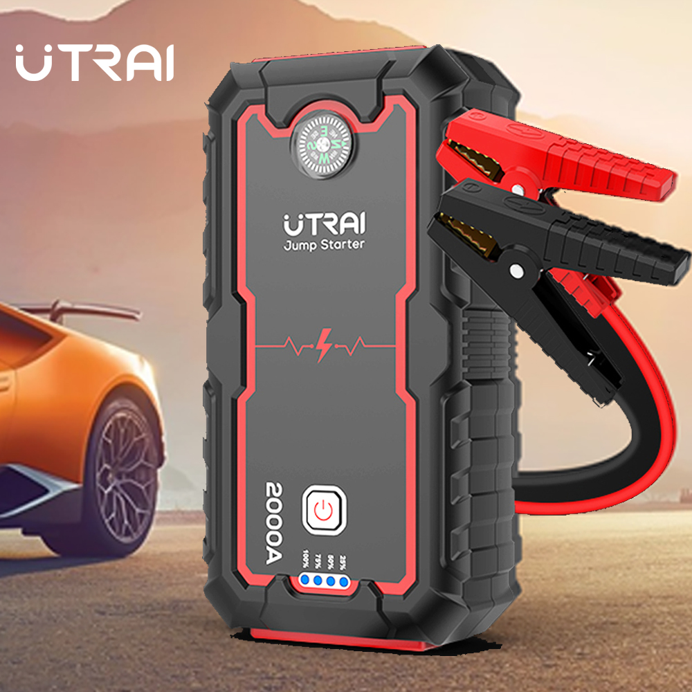 UTRAI Jump Starter Car Booster Power Bank Battery 2000A 12V Auto Starting Device Car title=