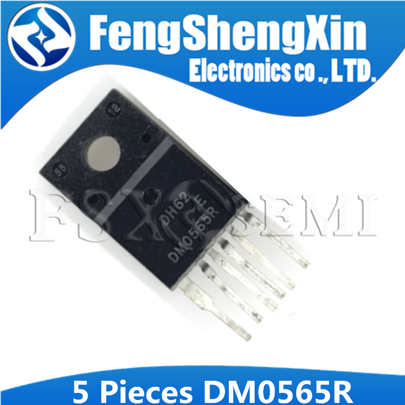 5PCS DM0565R TO-220F-6 DM0565 FSDM0565R TO-220F TO-220 Power Switch