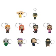 Keyring Keychains Trinkets-Accessory Key-Holder Charms Anime Figure Gifts Movie Magic