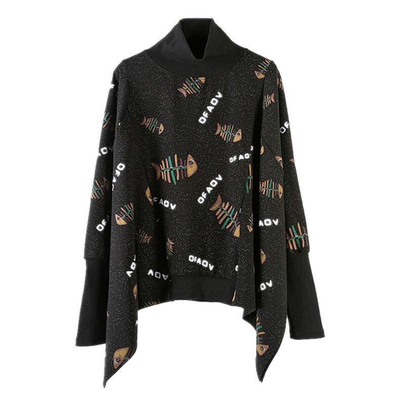 Owen seak Men Hoodies Sweatshirts High Street Style Turtleneck Men/'s Clothing Autumn Men Solid Black Sweatshirts