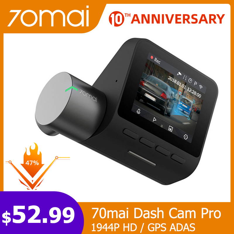 70mai DVR Camera Parking-Monitor Dash-Cam Voice-Control Wifi ADAS Night-Vision Smart-Car title=