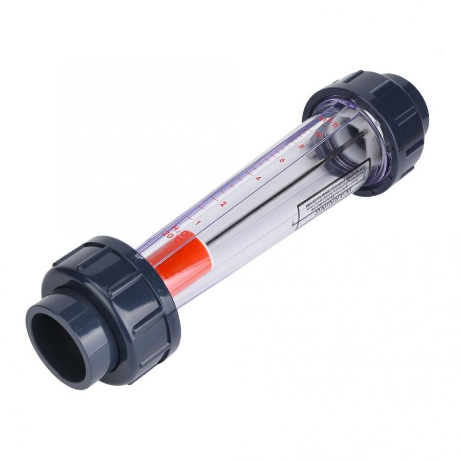 1-10m/³//H Tubo ABS de alta precisi/ón Tipo de medidor de flujo de agua Di/ámetro interno 50 mm//2 pulg. Medidor de flujo de l/íquido