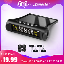 Jansite Monitoring-System Lcd-Display Tyre-Pressure Solar-Power Smart-Car TPMS Digital