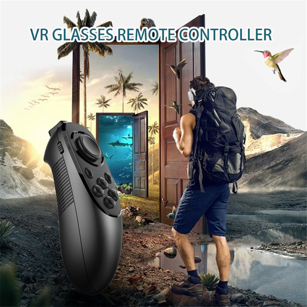 Multifunctional Wireless 3D Glasses Remote Controller Wireless Gamepad Game Handle Joystick for Android IOS