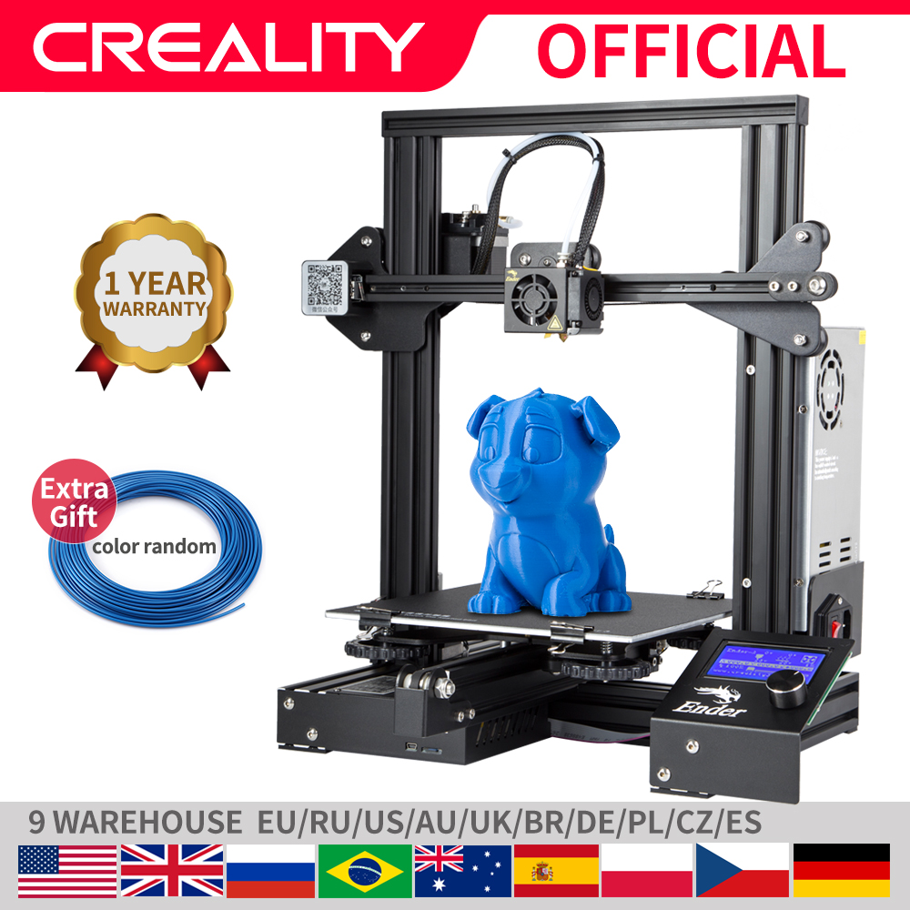 Diy-Kit Hotbed 3d-Printer Resume Upgraded CREALITY Optional Ender-3/ender-3x Power-Failure-Printing title=