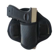 Hunting Concealed Carry Gun Holster PU Leather Pistol Glock 17 19 23 32 Gun Holster Case