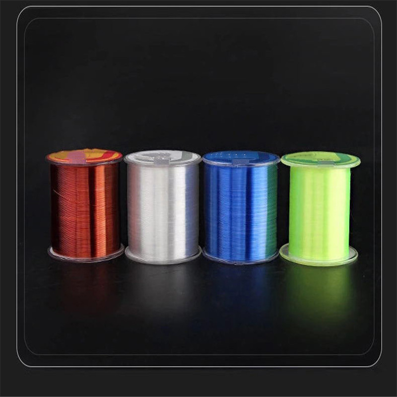 4-Strands Multifilament Throwing-Line Braid Fishing-Gear Carp Nylon 500M Long-Range title=