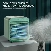 Cooling-Fan Air-Conditioner Rapid Outdoor Rechargeable Home New Desktop USB for Travel