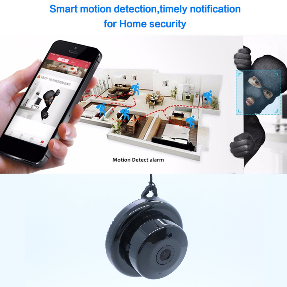 Cell Phone - Wifi IP Camera HD 1080P Wireless Indoor Camera Night Vision Two Way Detection Baby Monitor V380 Audio Home Security with Stand